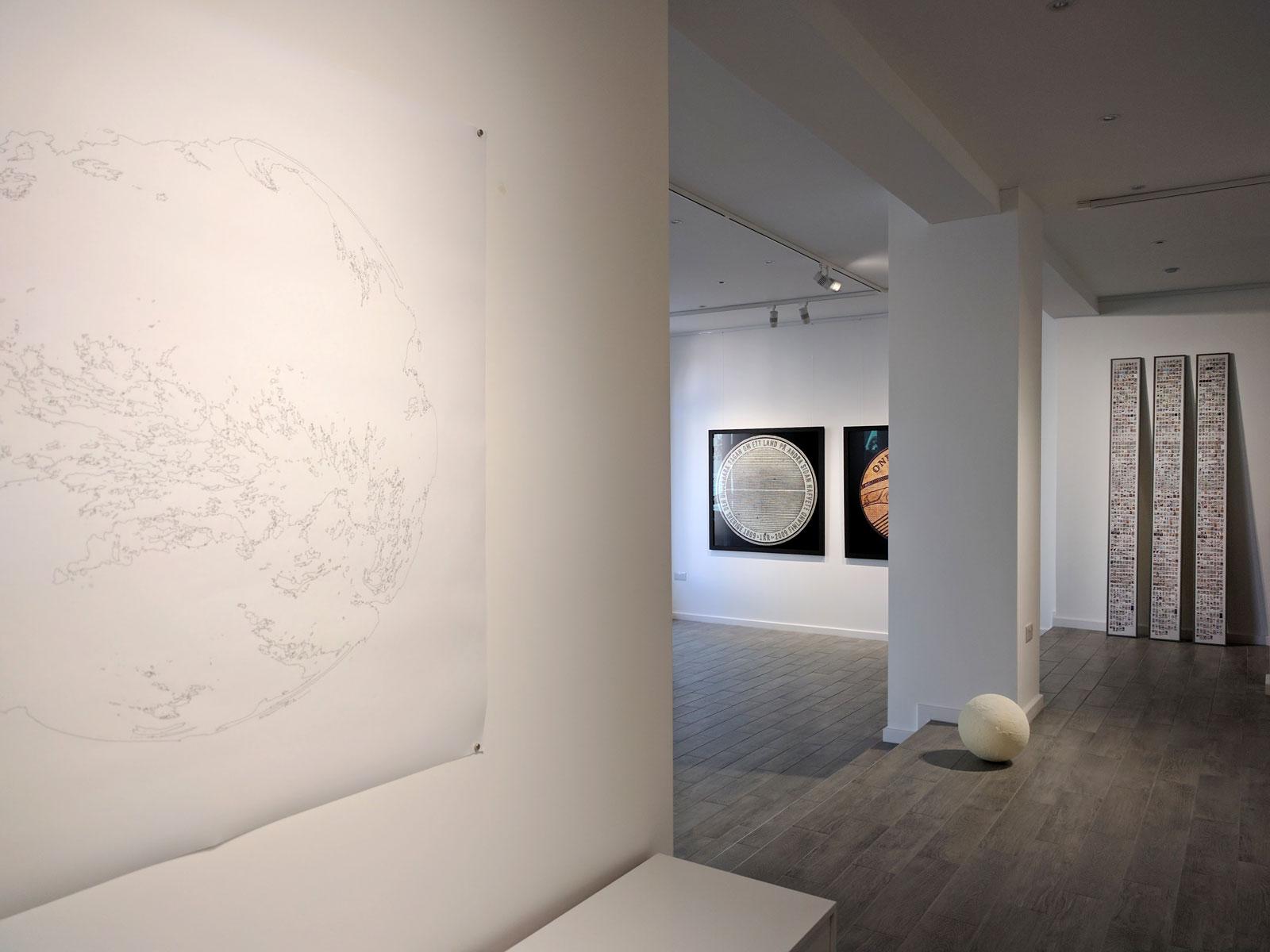 A Planetary Order (Terrestrial Cloud Globe), Argentea Gallery, 2017