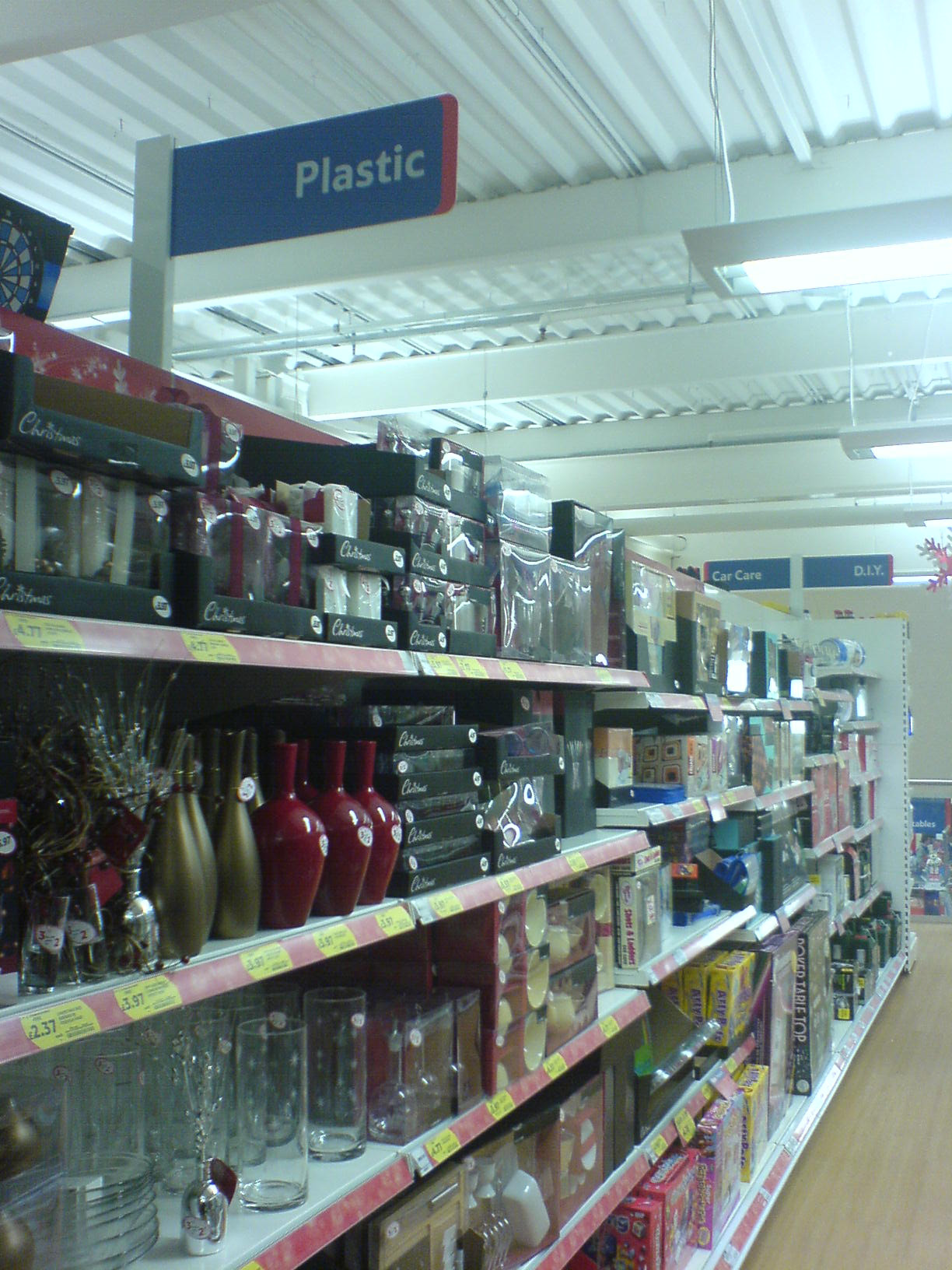 Tesco Monkspath, Solihull, Plastic