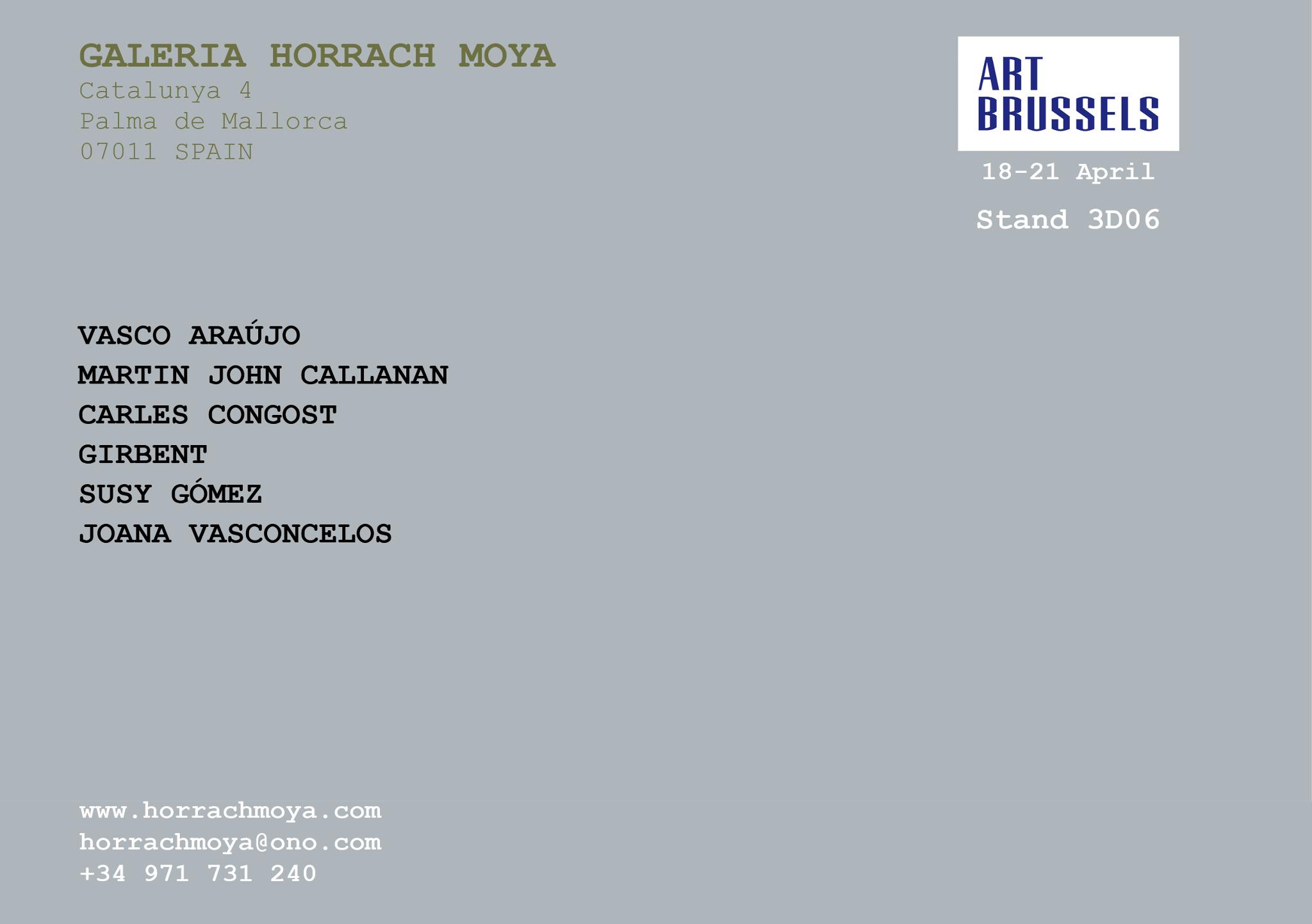 horrach moya art brussels