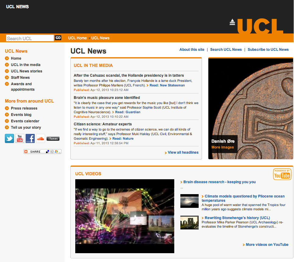 UCL News