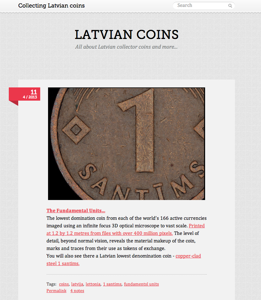 Latvian Coins