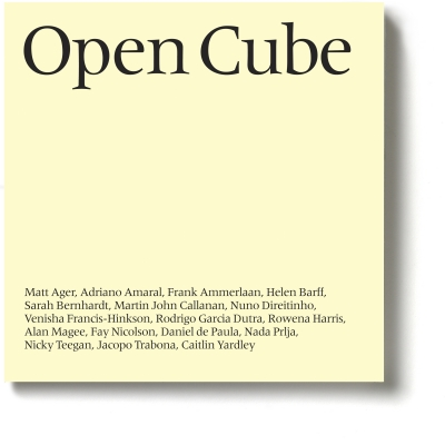 Open Cube Catalogue