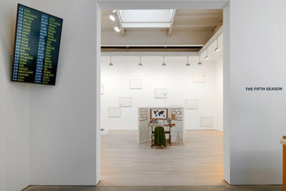 the fifth season, james cohan gallery