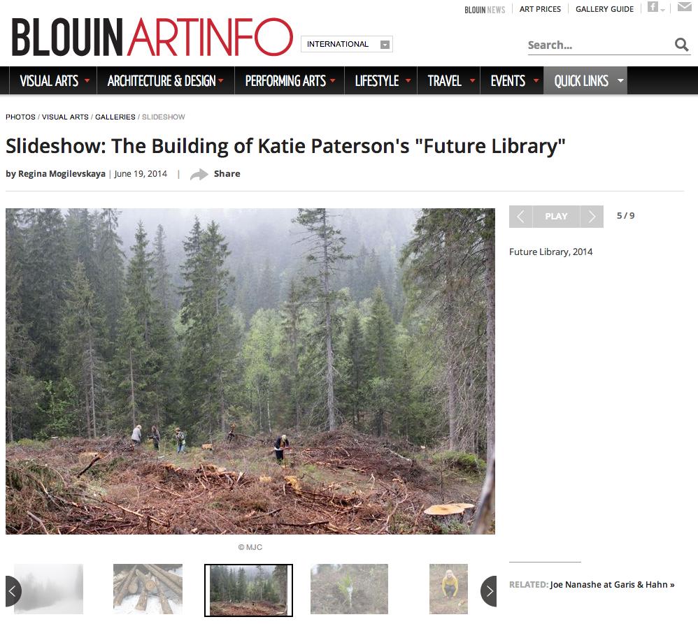 Katie Paterson Artinfo