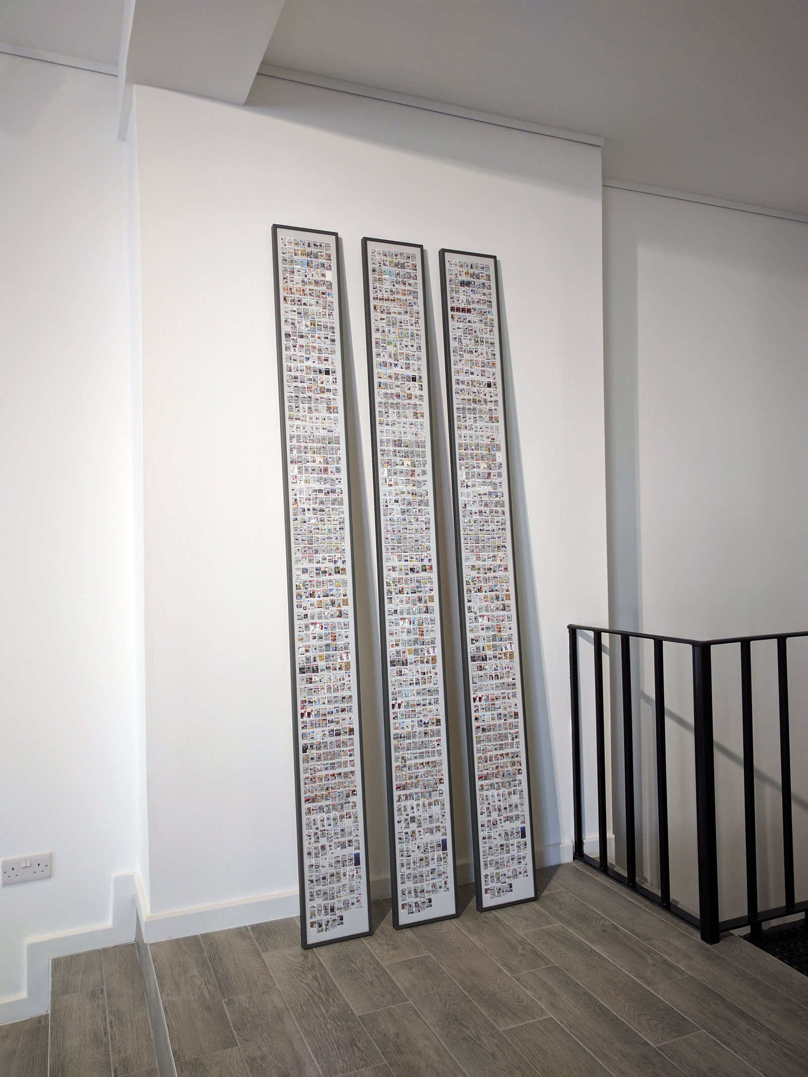 Data Soliloquies, solo exhibition at Argentea Gallery, Birmingham